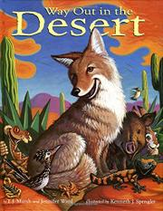 WAY OUT IN THE DESERT by T.J.  Marsh