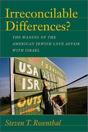 IRRECONILABLE DIFFERENCES? by Steven T. Rosenthal