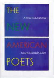 THE NEW AMERICAN POETS by Michael Collier