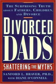 DIVORCED DADS by Sanford L. Braver