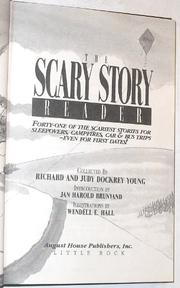 THE SCARY STORY READER by Richard Young