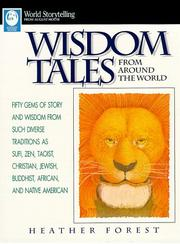 Cover art for WISDOM TALES FROM AROUND THE WORLD