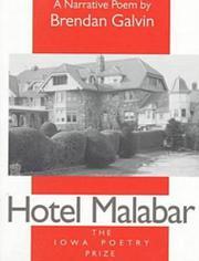 HOTEL MALABAR by Brendan Galvin