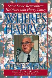 WHERE'S HARRY? by Steve Stone
