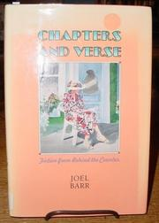 CHAPTERS AND VERSE by Joel Barr