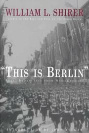 Book Cover for 'THIS IS BERLIN'