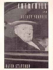 Book Cover for CHURCHILL AND SECRET SERVICE