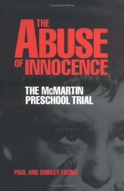 Cover art for THE ABUSE OF INNOCENCE