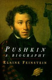 PUSHKIN by Elaine Feinstein