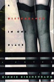 Cover art for A DISTURBANCE IN ONE PLACE