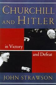 CHURCHILL AND HITLER by John Strawson