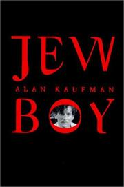 JEW BOY by Alan Kaufman