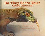 DO THEY SCARE YOU? by Sneed B. Collard III