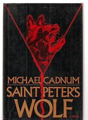Cover art for SAINT PETER'S WOLF