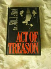 ACT OF TREASON by Mark North
