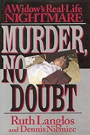 MURDER, NO DOUBT by Ruth Langlos