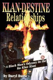 KLAN-DESTINE RELATIONSHIPS by Daryl Davis