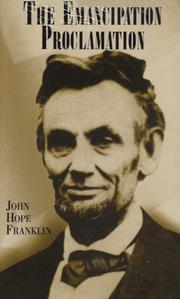 THE EMANCIPATION PROCLAMATION by John Hope Franklin