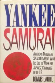 YANKEE SAMURAI by Dennis Laurie