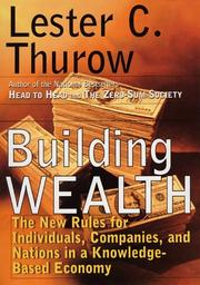 Cover art for BUILDING WEALTH