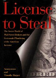 Cover art for LICENSE TO STEAL
