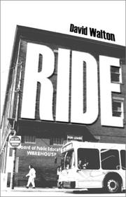 RIDE by David Walton