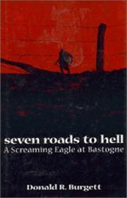 Cover art for SEVEN ROADS TO HELL