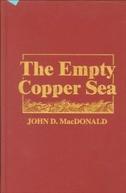 EMPTY COPPER SEA by John D. MacDonald