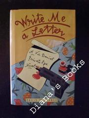 WRITE ME A LETTER by David M. Pierce