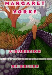 Cover art for A QUESTION OF BELIEF