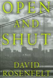 OPEN AND SHUT by David Rosenfelt