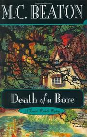 DEATH OF A BORE by M.C. Beaton
