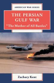 Cover art for THE PERSIAN GULF WAR