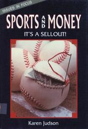 SPORTS AND MONEY by Karen Judson