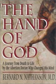 Cover art for THE HAND OF GOD