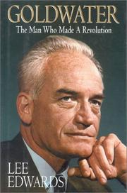 GOLDWATER by Lee Edwards