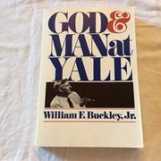 Cover art for GOD AND MAN AT YALE