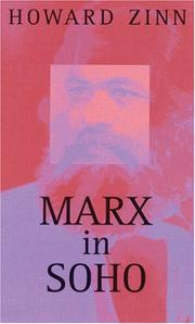 MARX IN SOHO by Howard Zinn
