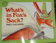 WHAT'S IN FOX'S SACK? by Paul Galdone