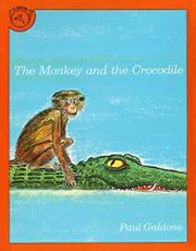 Cover art for THE MONKEY AND THE CROCODILE