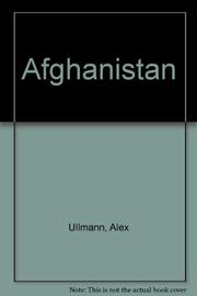 AFGHANISTAN by Alex Ullmann