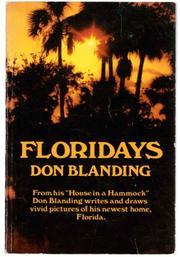 FLORIDAYS by Don Blanding