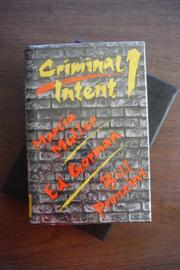 CRIMINAL INTENT 1 by Marcia Muller