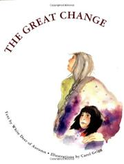 Cover art for THE GREAT CHANGE