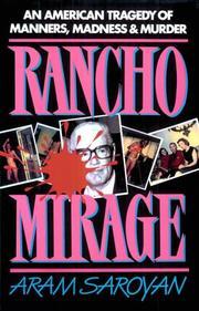 RANCHO MIRAGE by Aram Saroyan