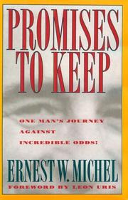 PROMISES TO KEEP by Ernest Michel