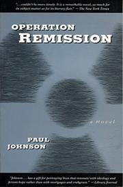 OPERATION REMISSION by Paul Johnson