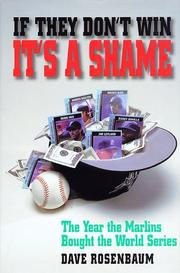 IF THEY DON'T WIN IT'S A SHAME by Dave Rosenbaum