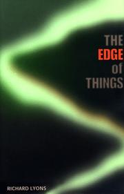 THE EDGE OF THINGS by Richard Lyons