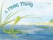 Book Cover for A FROG THING